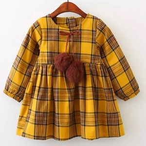 Other - NWT Plaid Long Sleeve Dress